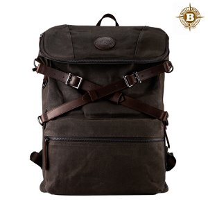 Explorer Rucksack Dark Tan