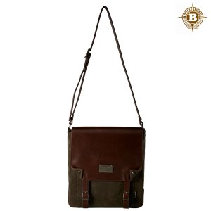 Enta Messenger Bag Dark Tan