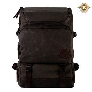 Basic Backpack Dark Tan