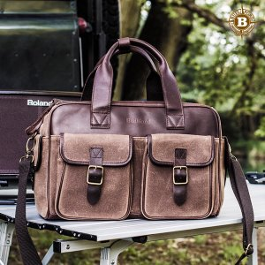 Medium Brown Camera Bag