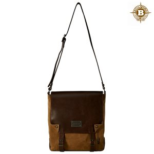Enta Messenger Bag Brush Brown