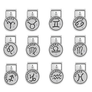 COMPOSABLE Classic CHARMS ZODIAC stainless steel and silver 925 oxy 331808 (택1)