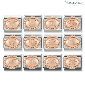 COMPOSABLE Classic OVAL ZODIAC 9K rose gold 430109 (택1)