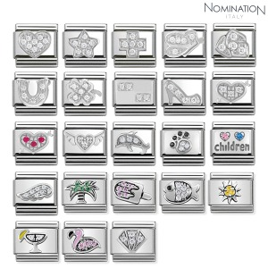 COMPOSABLE Classic SYMBOLS Cubic zirconia and silver 925. 330304 (택1)