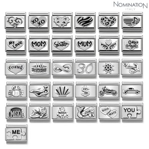 COMPOSABLE Classic OXIDIZED SYMBOLS sterling silver 330101 (택1)