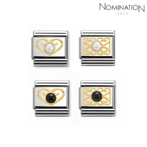 COMPOSABLE Classic STONES stainless steel and 18K gold 030513 (택1)