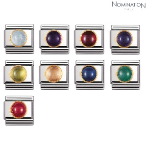 COMPOSABLE Classic ROUND BIRTHSTONE 18k gold 030505 (택1)