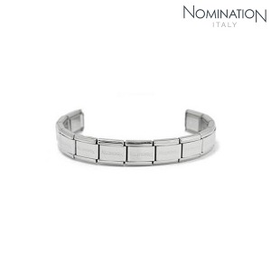 (단독구매불가) COMPOSABLE Classic Base Bracelet 13 Links (Steel) 030000/SI