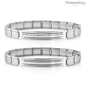 팔찌 TRENDSETTER (트렌드세터) bracelet in stainless steel polished finish 021128(택1)