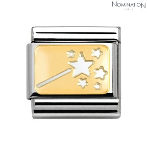 COMPOSABLE Classic PEQUENO DESEO in stainless steel and 18k gold 030156 (택1)