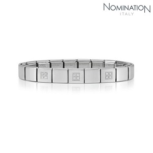 팔찌 IKONS (아이콘) Composable Bracelet 9 in stainless steel (CLASSIC) 239008/20