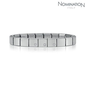 팔찌 IKONS (아이콘) Composable Bracelet 6 in stainless steel (CLASSIC) 239005/20