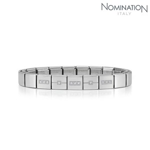 팔찌 IKONS (아이콘) Composable Bracelet 4 in stainless steel (CLASSIC) 239003/20