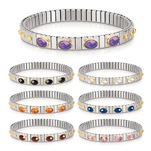 팔찌 EXTENSION (익스텐션) bracelets (S) 18k gold and faceted Cubic Zirconia 042502(택1)