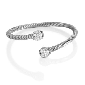 팔찌 ETERNITY (이터니티) bracelet Cubic Zirconia set in sterling silver 025014/001