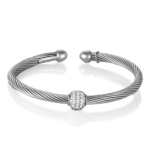 팔찌 ETERNITY (이터니티) bracelet Cubic Zirconia set in sterling silver 025012/001