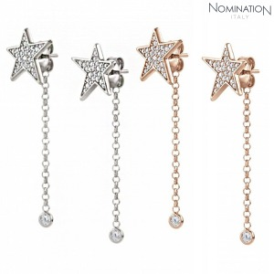 귀걸이 STELLA (스텔라) earrings 925 silver and cz with stars (drop) 146717(택1)