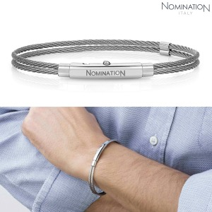 PORTOFINO (포르토피노) bracelet Thin Double Stainless Steel (Steel) 024149/001