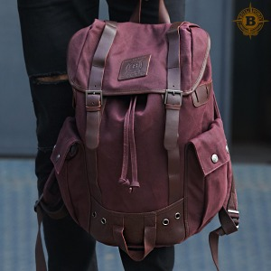 Ranger Backpack Burgundy