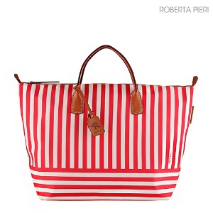 Stripe Extra Large Duffle Red