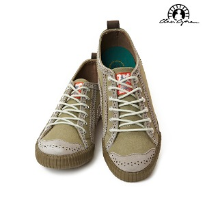 Low 6 Holes Brogue Willow