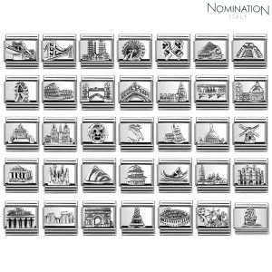 COMPOSABLE classic MONUMENTS RELIEF steel and silver 925. 330105 (택1)