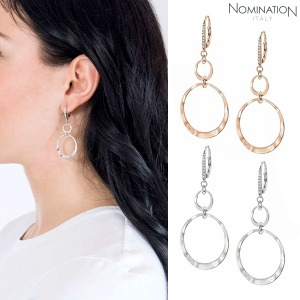 귀걸이 LUNA (루나) Earring 925 silver and cubic zirconia 140451(택1)