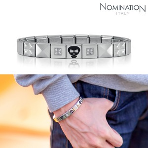 팔찌 IKONS (아이콘) Composable Bracelet 2 in stainless steel (CLASSIC) 239001/20