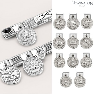 COMPOSABLE Classic CHARMS WISHES steel and 925 silver 331804 (택1)