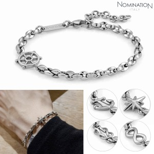 팔찌 ATLANTE (아틀란테) bracelet in stainless steel 027500(택1)