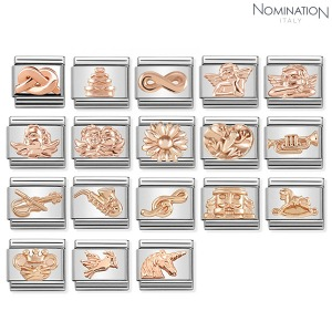 COMPOSABLE Classic SYMBOLS RELIEF stainless steel and gold 9k 430106 (택1)