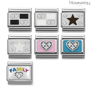 COMPOSABLE Classic SYMBOLS stainless steel, enamel, Cubic 330306 (택1)