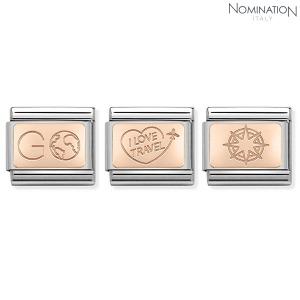COMPOSABLE Classic PLATES SYMBOLS 9K rose gold 430110 (택1)